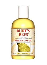 Burt's Bees®  Lemon & Vitamin E Bath and Body Oil, 115ml
