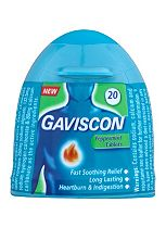 Gaviscon Peppermint - 20 Chewable Tablets