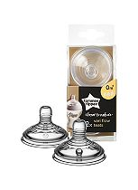 Tommee Tippee Closer to Nature Easi-vent Variflow Teats 0M+