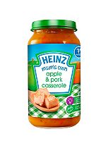 Heinz 7+ Months Mashed Mum's Own Apple & Pork Casserole 200g