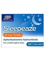 Boots Sleepeaze Tablets 25 mg  - 20 tablets