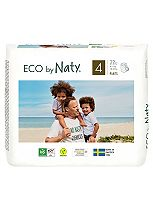 Naty Nature Babycare Pull On Pants Size 4 Carry Packs - 22 Pants