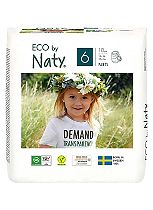Naty Nature Babycare Pull On Pants Size 6 Carry Pack - 1 x  18 Pants