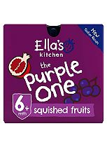 Ella's Kitchen The Purple One Squished Smoothie Fruits 5 x 90g