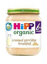 HiPP Organic Creamed Porridge Breakfast 6+ Months 125g