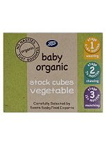 Boots Baby Organic Stock Cubes  Vegetable Stage 1, 2 & 3 From 4-6mths+ 60g