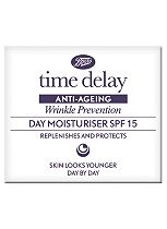 Boots Time Delay Wrinkle Prevention Day Moisturiser SPF15 50ml