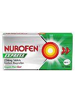 Nurofen Express 256mg Tablets - 16 Tablets
