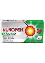 Nurofen Express 256 mg Caplets - 16 Caplets