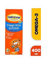 Haliborange Omega-3 Syrup For Kids With Vitamins A C D E - 400ml