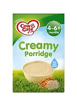 Cow & Gate Sunny Start 4-6m onwards Creamy Porridge 125g
