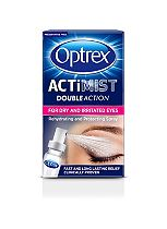Optrex ActiMist 2in1 Eye Spray for Dry + Irritated Eyes - 10ml