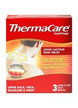 ThermaCare Therapeutic HeatWraps - Neck, Shoulder & Wrist - 3 single use heatwraps