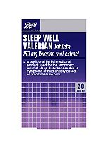 Boots  Sleep Well Traditional Herbal Remedy 150mg - 30 Tablets