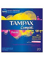Tampax Compak Fresh Regular 20 Tampons