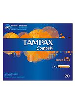 Tampax Compak Tampons Super Plus 20 Pack