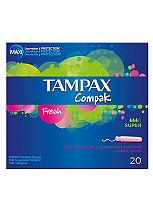 Tampax Compak Fresh Super 20 Tampons