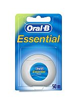 Oral B Essential Waxed Mint Floss 50m