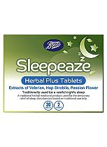 Boots Sleepeaze Herbal Tablets - 30 Tablets