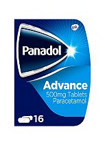 Panadol Advance 500 mg Tablets - 16 Tablets
