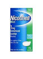 Nicotinell Mint 1mg Lozenge – 72 lozenges