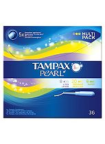 Tampax Pearl Multi Pack Tampons 36 Pack