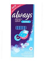 Always Daily Pantyliners Normal 20 Pack