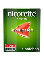Nicorette Invisi Patch 15mg - 7 patches