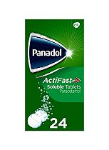 Panadol ActiFast Soluble Tablets 24 Tablets