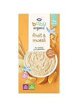 Boots Baby Organic Fruit & Muesli Stage 2 7months+ 250g