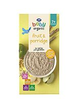 Boots Baby Organic Fruity Porridge Stage 2 7months+ 250g