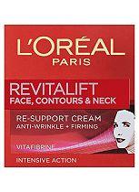 L'Oréal Paris Revitalift Face Contours and Neck Re-Support Cream 50ml