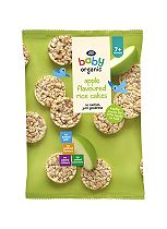 Boots Baby Organic Apple Flavoured Rice Cakes Stage 2/3 7/12months+ 50g