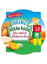 Heinz 1-3 Years Little Kidz Juicy Apricot Chicken & Rice 230g