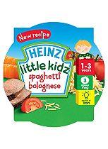 Heinz 1-3 Years Little Kidz Spaghetti Bolognese 230g