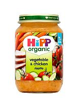 HiPP Organic Vegetable & Chicken Risotto 7+ Months 190g