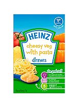 Heinz 7+ Months Cheesy Veg with Pasta Dinners 100g