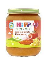 HiPP Organic Pasta in a Tomato & Ham Sauce 6+ Months 125g