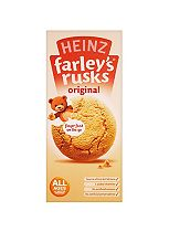 Heinz All Ages 4-6 Months Onwards Farley's Rusks Original 150g