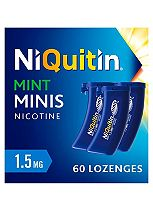 NiQuitin Minis Mint 1.5mg Lozenges - 60 Lozenges