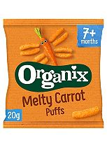 Organix Finger Foods Carrot Sticks 7+ Months Stage 2 20g