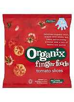 Organix Finger Foods Organic Tomato Slices 7+ Months Stage 2 20g