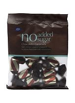 Boots No Added Sugar Chocolate Caramels - 75g