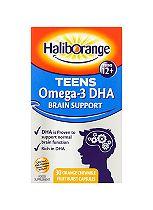 Haliborange TeenSense Omega-3 with Vitamins A C D & E - 30 Capsules