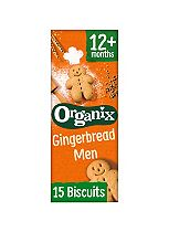 Organix Goodies Organic Gingerbread Men 135g
