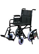 Homecraft Attendant Wheelchair - Ebony