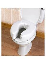 Homecraft Raised Toilet Seat Padded - 10cm