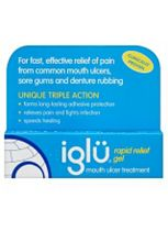 Iglu Rapid Relief Gel Mouth Ulcer Treatment - 8g