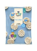 Boots Baby Organic Rice Cakes Stage 2/3 7/12months+ 50g