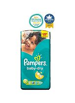 Pampers Baby-Dry Nappies Size 5 Large Bag - 54 Nappies